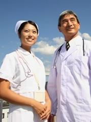 前向きに医療に取り組むイメージ写真